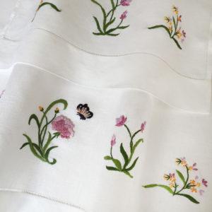 Peonia asciugamano
