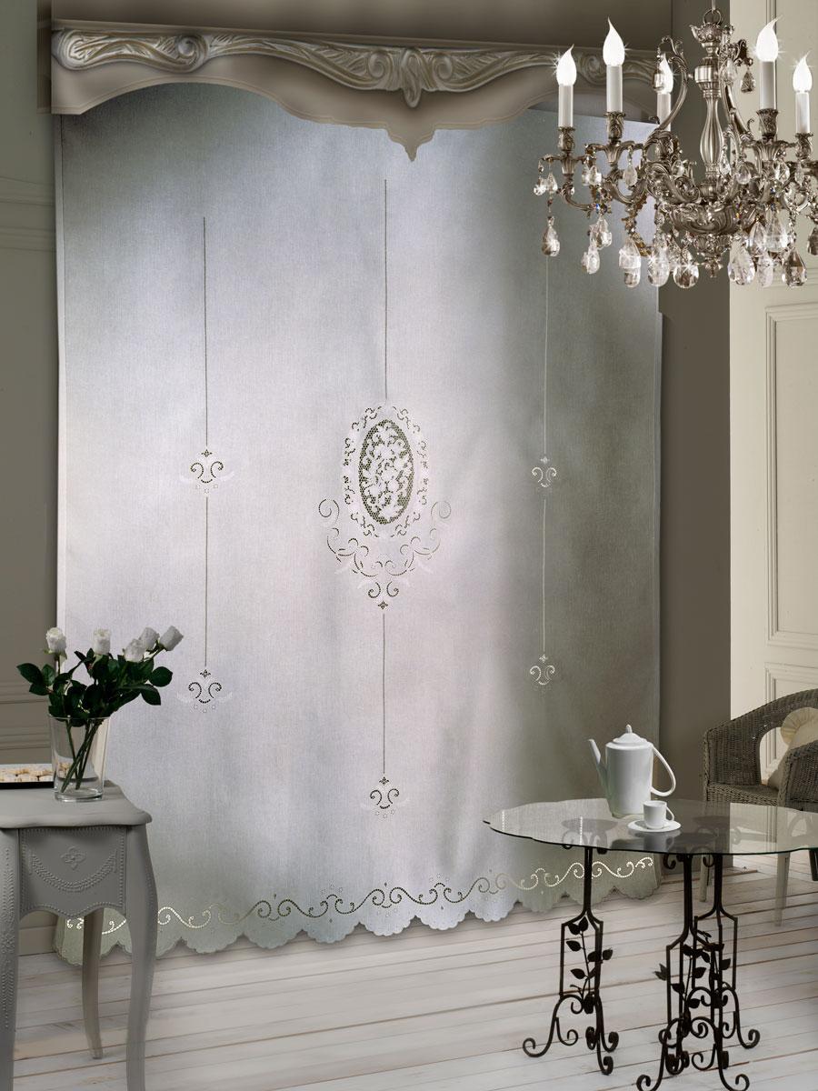 Pannello tenda giunone intaglio pannelli lino centro corredi grillo - Camere da bagno ...