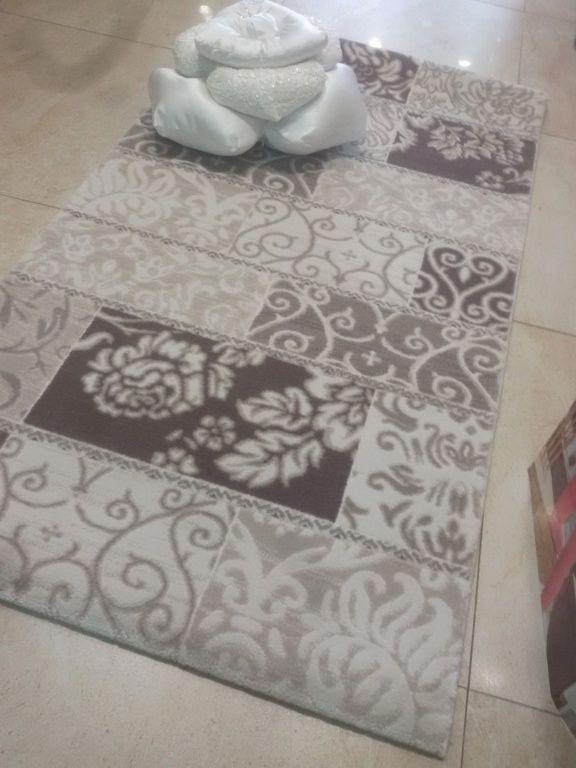 Tappeto camera da letto Ares beige tortora
